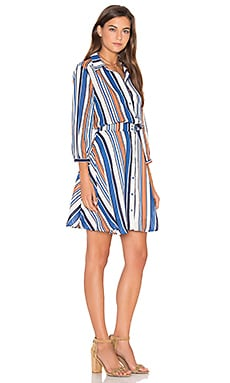 Lucy Paris Arielle Dress in Stripe