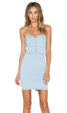 BETTY BUSTIER BODYCON DRESS