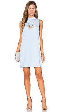 Lucy Paris Babydoll Dress in Powder Blue