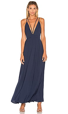 Celine Maxi Dress in Total Eclipse