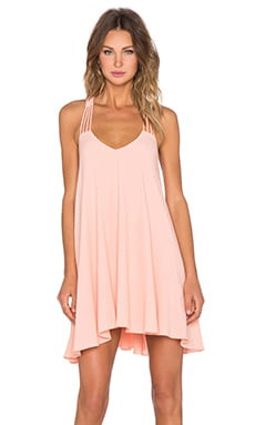 Lucy Paris Sweet as a Peach Dress in Peach