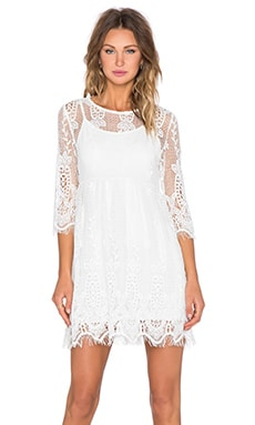 Lucy Paris Free As a Bird Dress in Cream