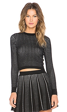 Lucy Paris Serena Sweater in Black