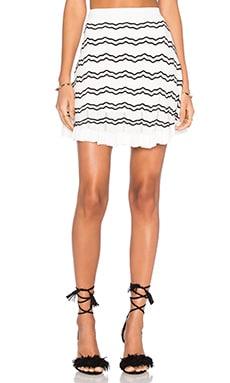 Knit Stripped Skirt