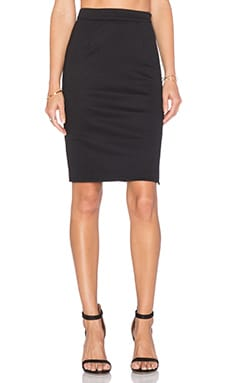 Lucy Paris Natalie Pencil Skirt in Black