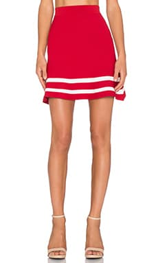 Lucy Paris x REVOLVE JV Skirt in Red
