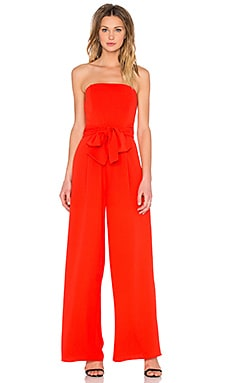 Lucy Paris Natalie Jumpsuit in Red