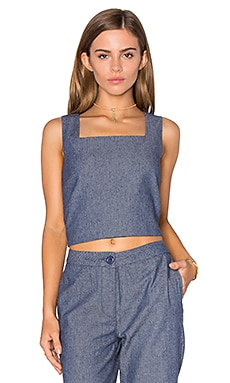 Boxed Crop Top