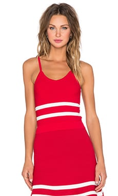 Lucy Paris x REVOLVE JV Crop Top in Red