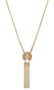 Lucky Star Medina Necklace in Gold