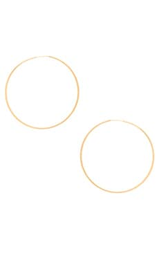 Lucky Star Norma Large Hoop Earring in Gold