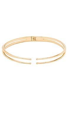 Lucky Star x REVOLVE Boheme Tassel Convertible Necklace in Gold & Marsala Red