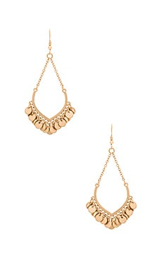 Lucky Star Moondance Earring in Gold