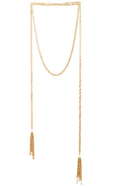 Lucky Star Stand Out Wrap Necklace in Gold
