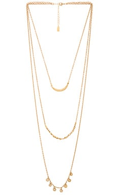 Lucky Star Moondance Necklace in Gold