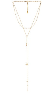 Lucky Star Starry Sky Necklace in Gold