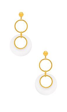 Circle Drop Earrings LARUICCI $143
