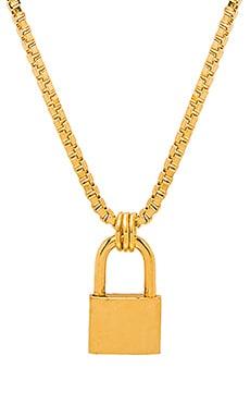 Купить Ожерелье lock - LARUICCI, Золотой, США, Металлический золотой