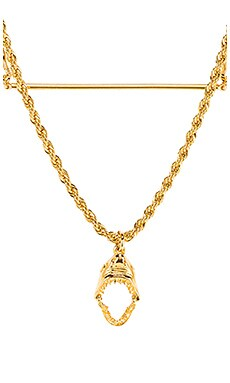 Layered Shark Necklace LARUICCI $176