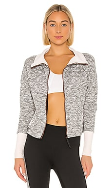 Ribbed Full Zip Jacket lukka lux $150
