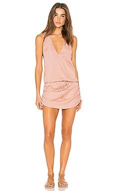 T Back Mini Dress Luli Fama $128 BEST SELLER