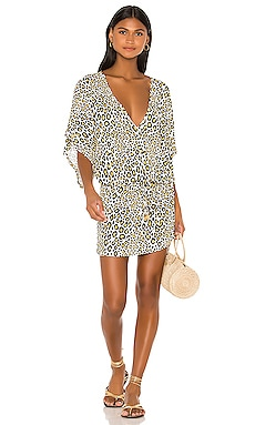 Cabana V Neck Dress Luli Fama $143