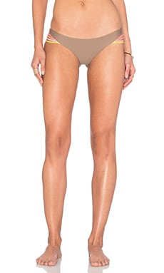 Luli Fama Unstoppable Buns Out Bikini Bottom in Sandy Toes