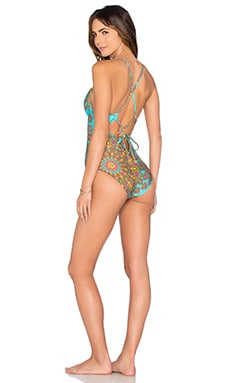 Suenos Estrellados Chic Swimsuit in Multicolor