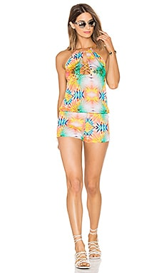 Sol Crossed Multi Strings Romper