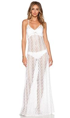Luli Fama Amor Marinero Maxi Dress in White