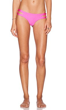 Luli Fama Borrachera de Mar Open Side Bikini Bottom in Too Hot Miami
