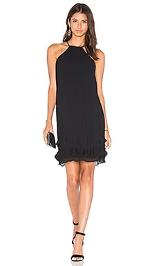 Step To It Halter Dress in Black