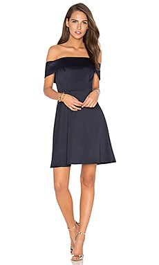 Body Language Dress in Navy