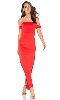Keep Control Maxi Dress in Red
