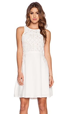 Lumier Virtue & Vice Dress in White Lace