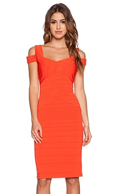 Lumier Between the Lines Dress in Red