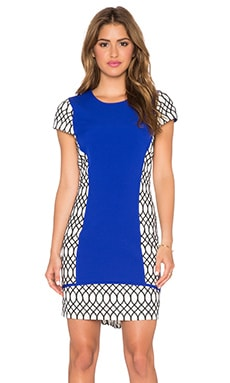 Lumier Forever and Evermore Tunic in Cobalt Poly & White