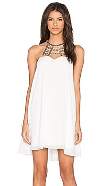 Lumier Total Eclipse Tunic in White