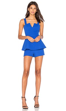 Thick As Thieves Peplum Romper