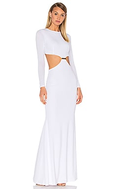 Lurelly Aubrey Gown in White