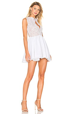 Tres Jolie Mini Dress in White