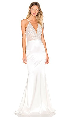 Lurelly Glacer Gown in Ivory