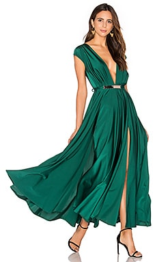 Blown Away Dress in Green