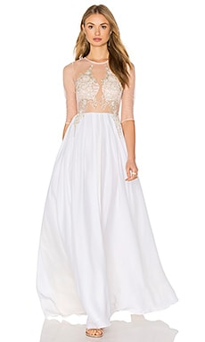 Lurelly Provence Gown in White