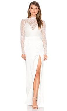 Lurelly Adelaide Gown in Off White