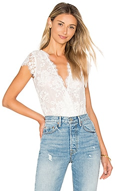 Amalfi Lace Bodysuit in White