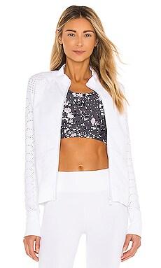 Infinity Seamless Zip Through Jacket L'urv $110