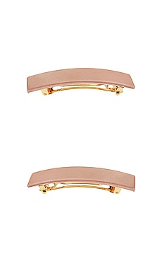 Rectangle Barrette L. Erickson USA $15