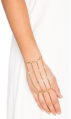 Luv AJ The Diamond Kite Hand Piece in Antique Gold