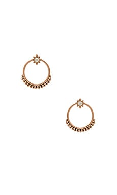 The Versailles Two Piece Hoop in Rose Gold